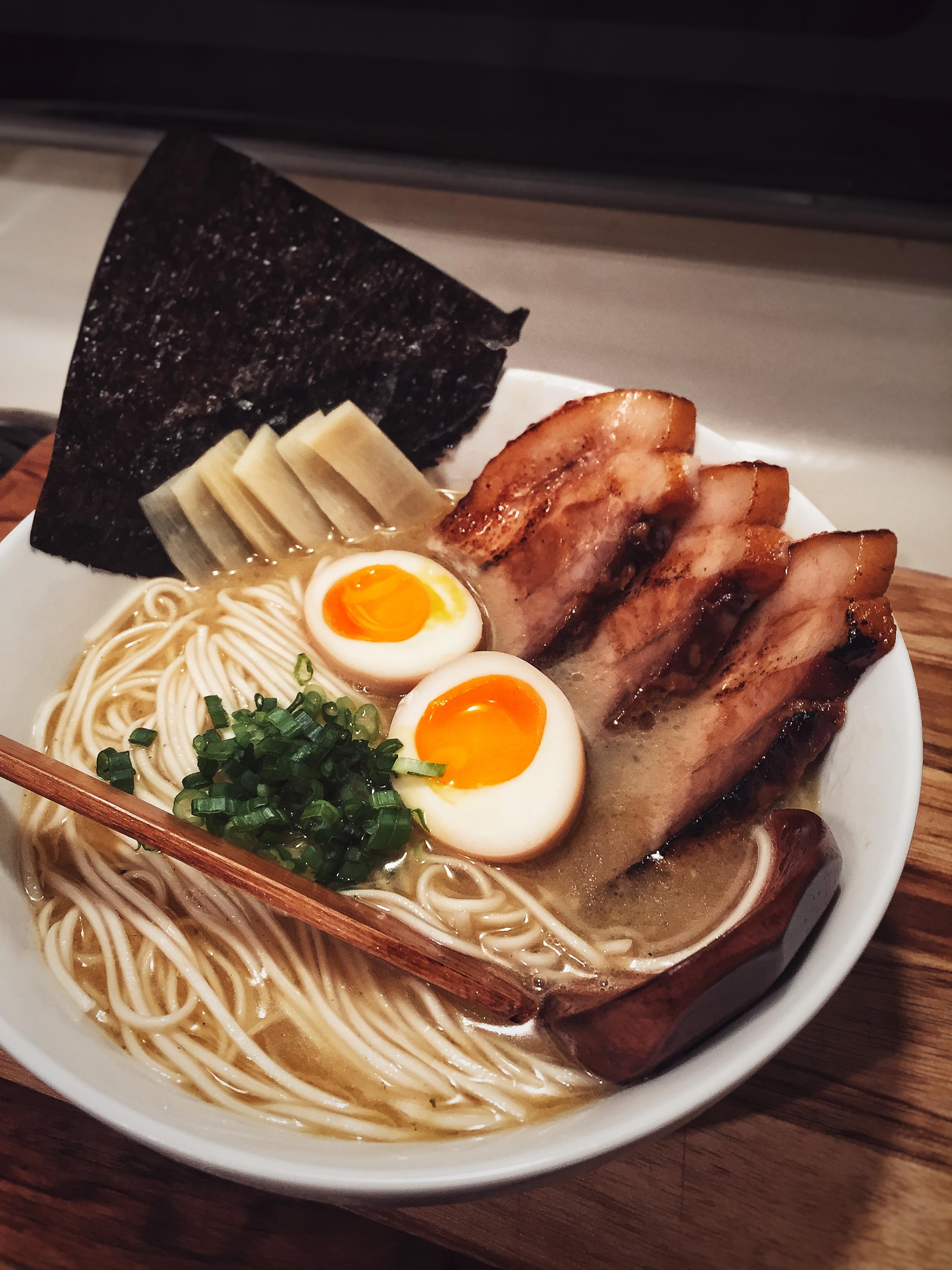 Tonkotsu Ramen – Cooking with Yusen